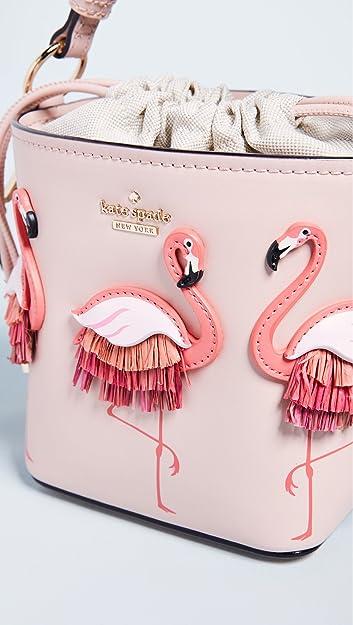 f0d45ec192254 Amazon.com  Kate Spade New York Women s Flamingo Pippa Bucket Bag ...