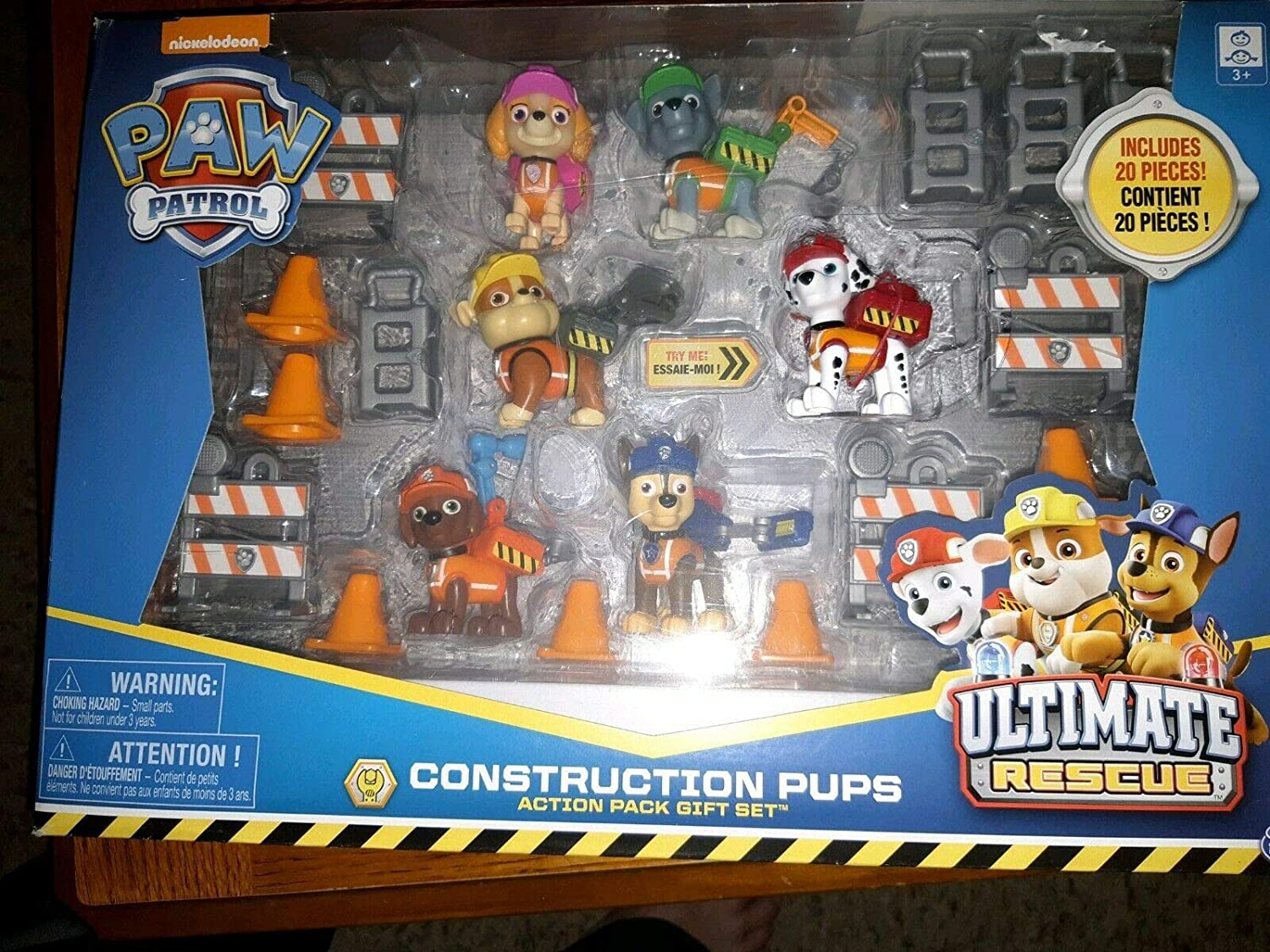 Nickelodeon Paw Patrol Kids Toy Action Pack Pup Figure Set Chase Rocky Zuma Gift
