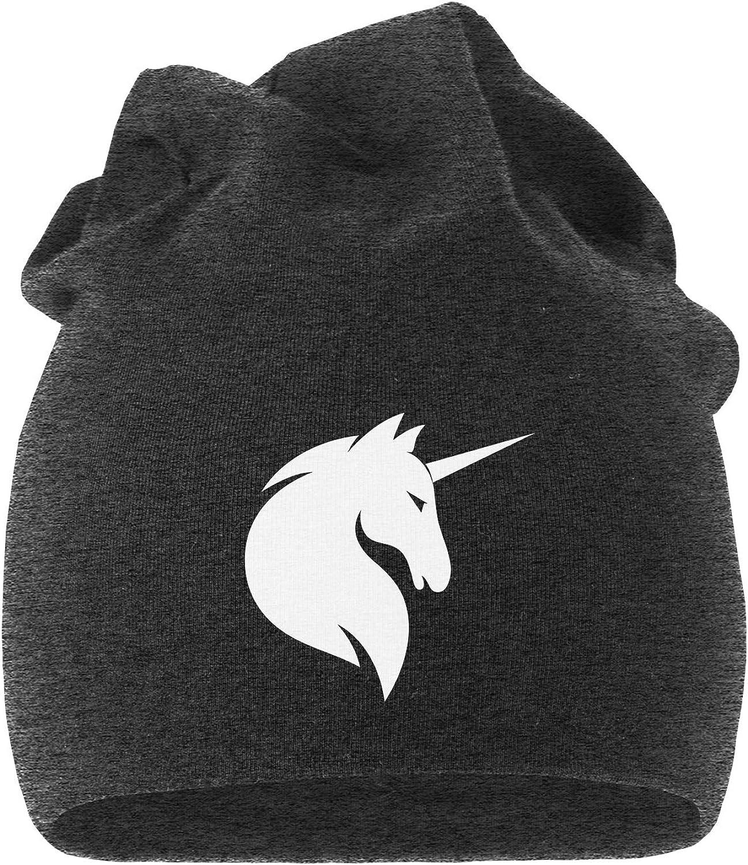 MoonWorks Jersey Beanie Einhorn Unicorn Anker Hipster Kackhaufen L/äuft Meow M/ütze Stern Herren Damen