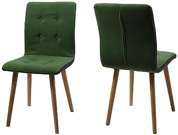 Ac Design Furniture Stuhl Charlotte B 43 X T55 X H 88 Cm Stoff