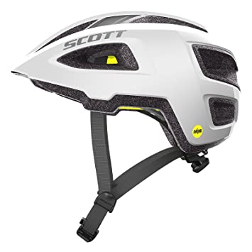 Scott Groove Plus Bicicleta Casco Blanco 2018, Medium/Large