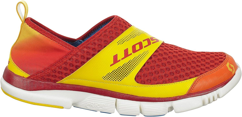 Scott Zapatillas Deportivas Descanso/Podium eRide Renew Naranja/Amarillo EU 47: Amazon.es: Zapatos y complementos