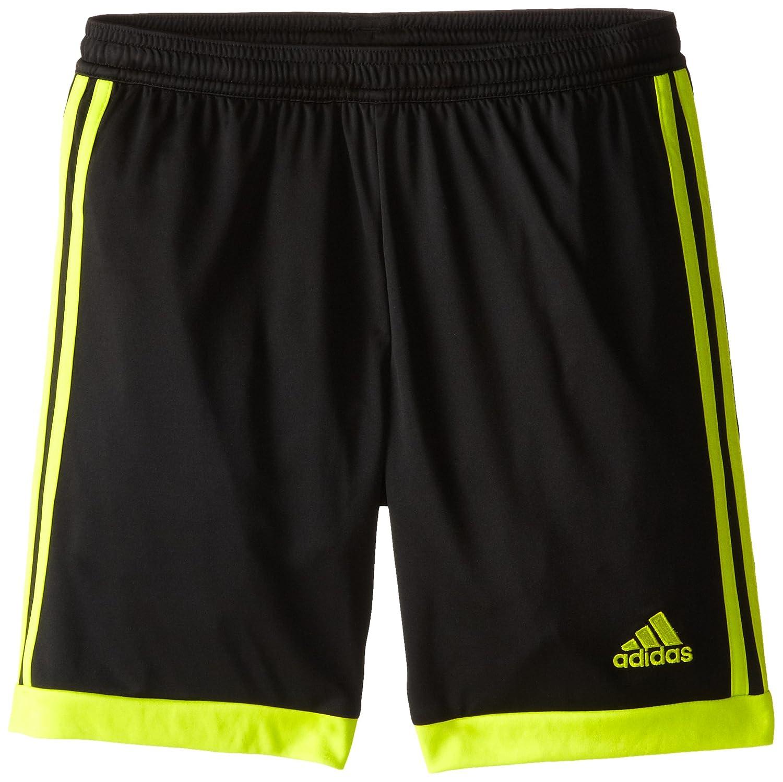 adidas パフォーマンス ユースサイズ Tastigo 15ショーツ B00LU7DTGY Large Black/Semi Solar Yellow Black/Semi Solar Yellow Large
