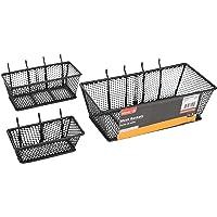 The Bulldog Hardware 2000204 Mesh Basket-Value Pack