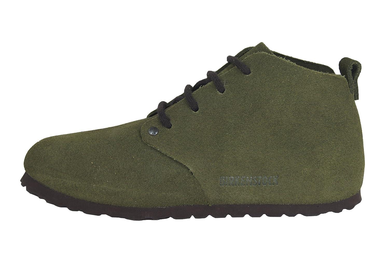 Birkenstock Dundee 692063 - Zapatos casual de ante unisex, BLACK-N, 45.0
