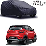 ABS AUTO TREND Matty Grey Car Cover for Mahindra Kuv-100