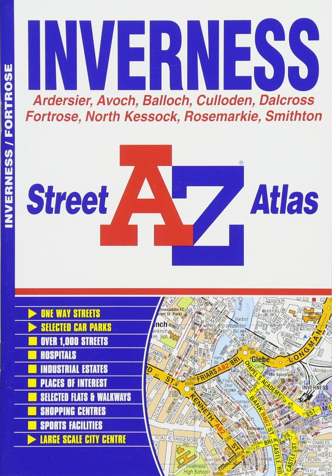 Inverness Street Atlas (A-Z Street Atlas)