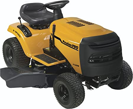 Amazon.com: Poulan Pro pb145g38 6-speed Lawn Tractor, 96,5 ...