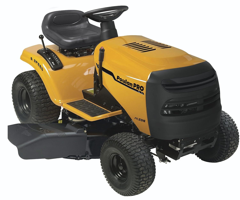 Amazon.com: Poulan Pro pb145g38 6-speed Lawn Tractor, 96,5 ...
