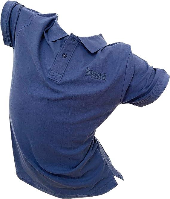 Lonsdale Polo de hombre de piqué Slim Fit Moda