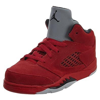 jordan shoes 5 blue or red toddler shorts 823341