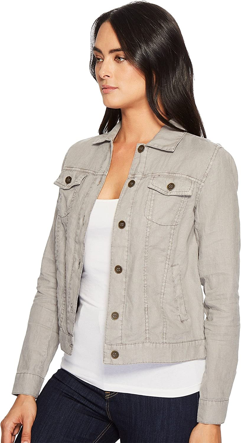 Michael Stars Womens Linen Jean Jacket
