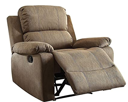 Amazon Com Major Q Memory Foam Washed Pu Leather Fully Recliner