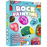 Rock Painting Kit for Kids - Arts and Crafts for Girls & Boys Ages 6-12 - Craft...