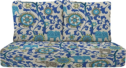 RSH D cor Indoor Outdoor Deep Seating Loveseat Cushion Set