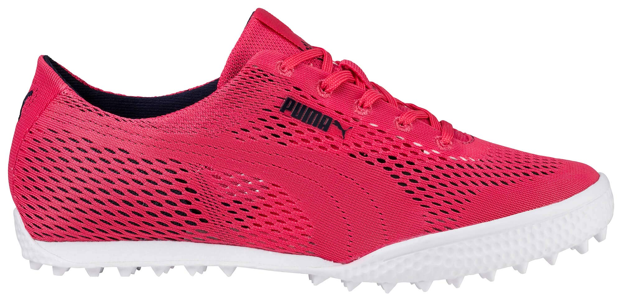 PUMA Golf Women's Monolite Cat Woven Golf Shoe, Paradise Pink, 5.5 Medium US