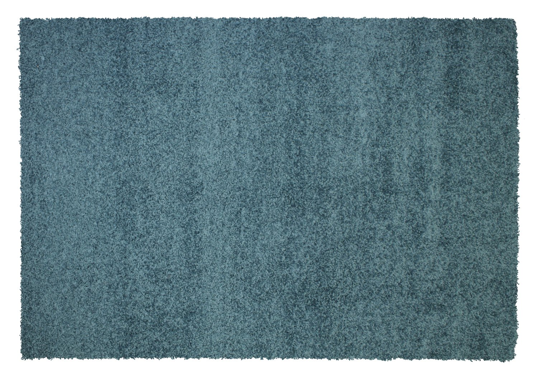 BALLROOM SHAGGY Hochflor Langflor Teppich in petrol, Größe  160x230 cm