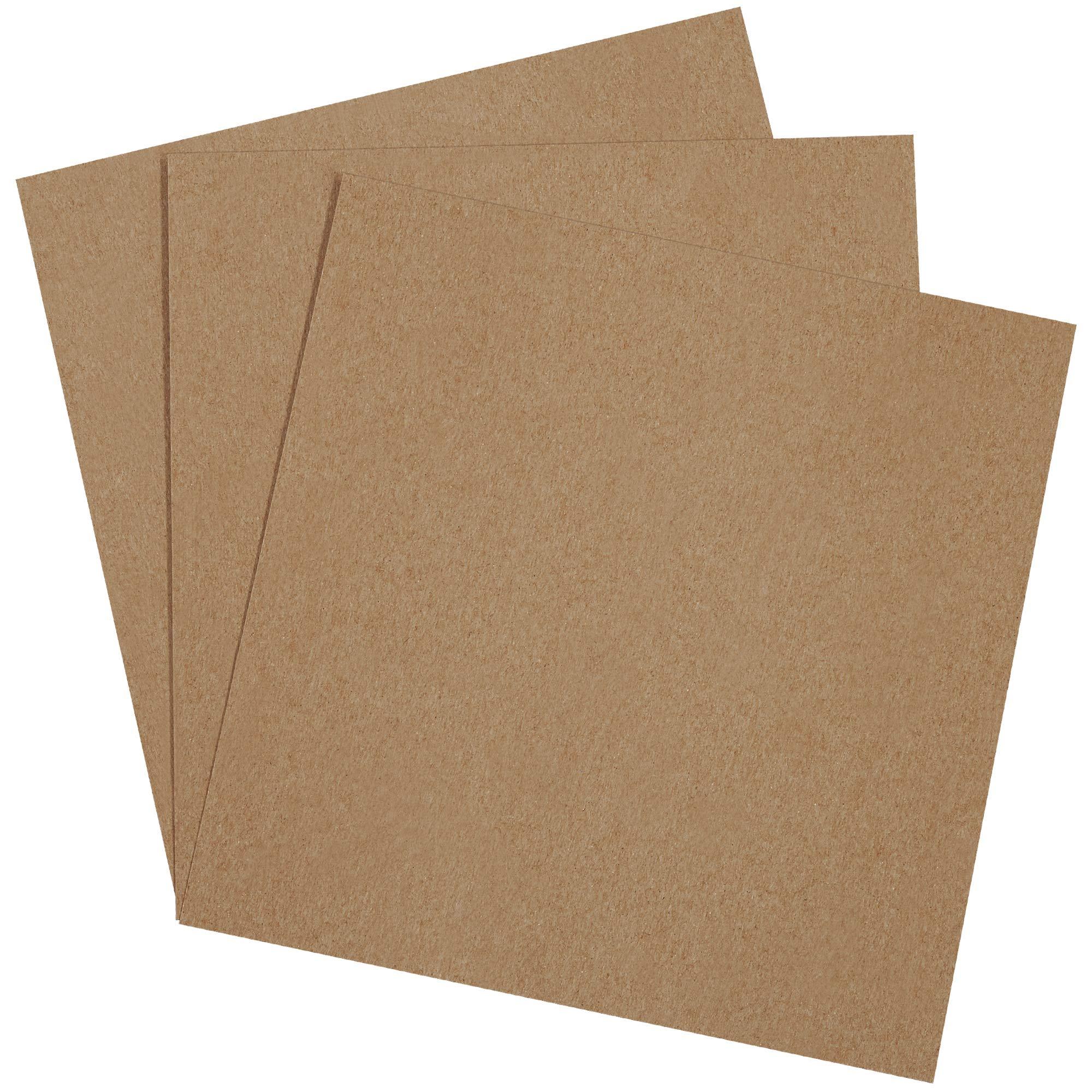 Chipboard Pads, 10'' x 10'', Kraft, 800/Case