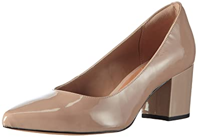 Clarks - Pravana Rose, Tacco da donna, beige (sand patent leather),