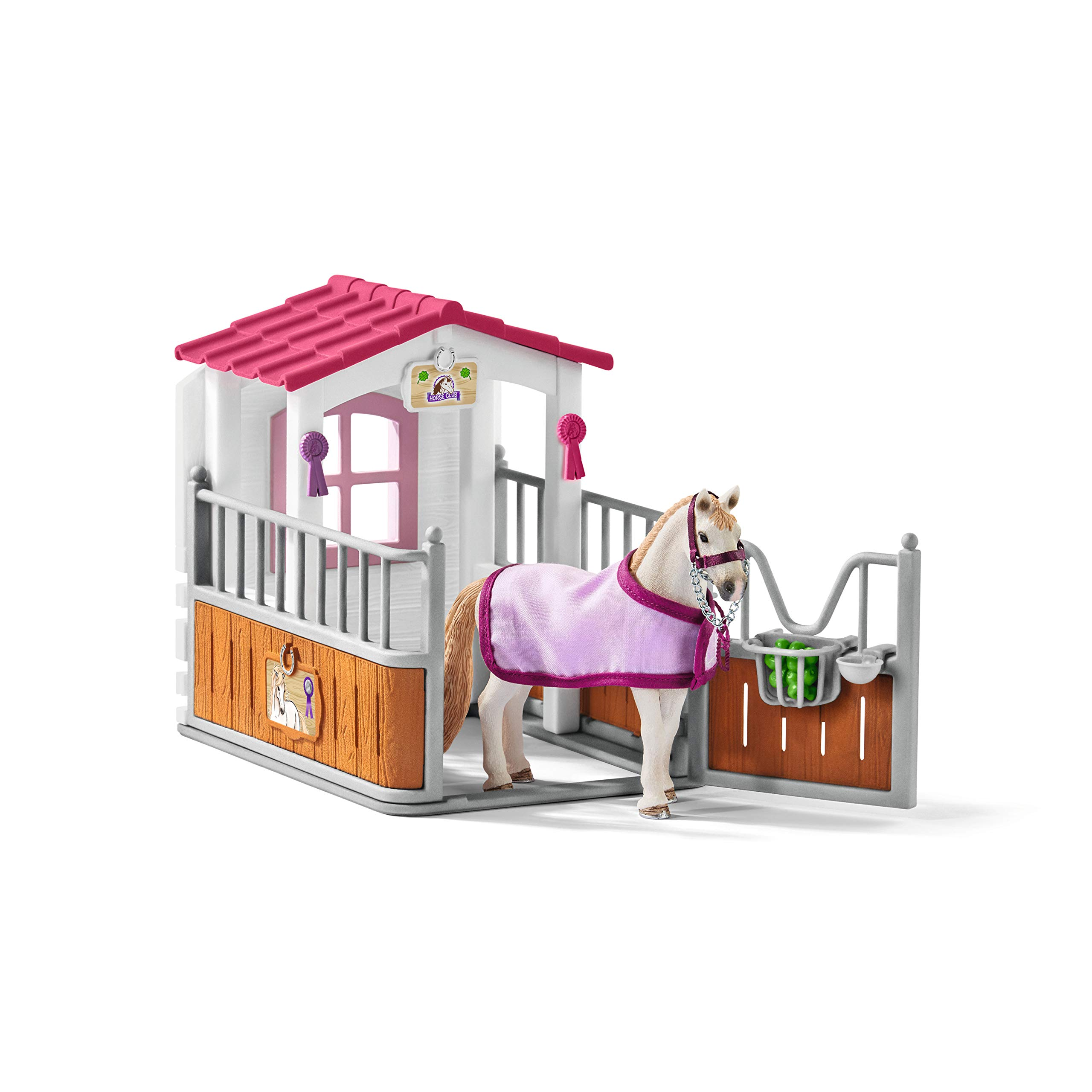 Schleich - Horse stall with Lusitano mare - 42368