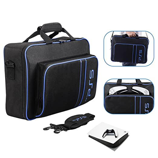 Waterproof Case Storage Bag for PS5,Carrying Case Protective Travel Bag Compatible for Playstation 5 igital Edition/Ultra. | Amazon