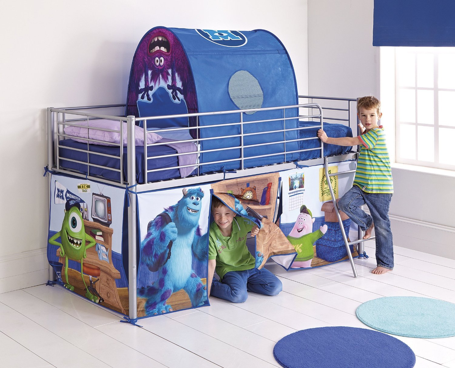Disney Monsters University Mid Sleeper Bed Tent Pack Multi-Color Amazon.co.uk Kitchen u0026 Home & Disney Monsters University Mid Sleeper Bed Tent Pack Multi-Color ...