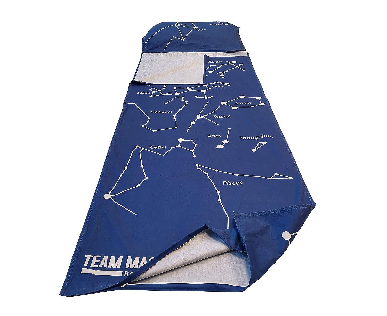 Team Magnus sábana por saco de dormir Tundra wolf para niños ...