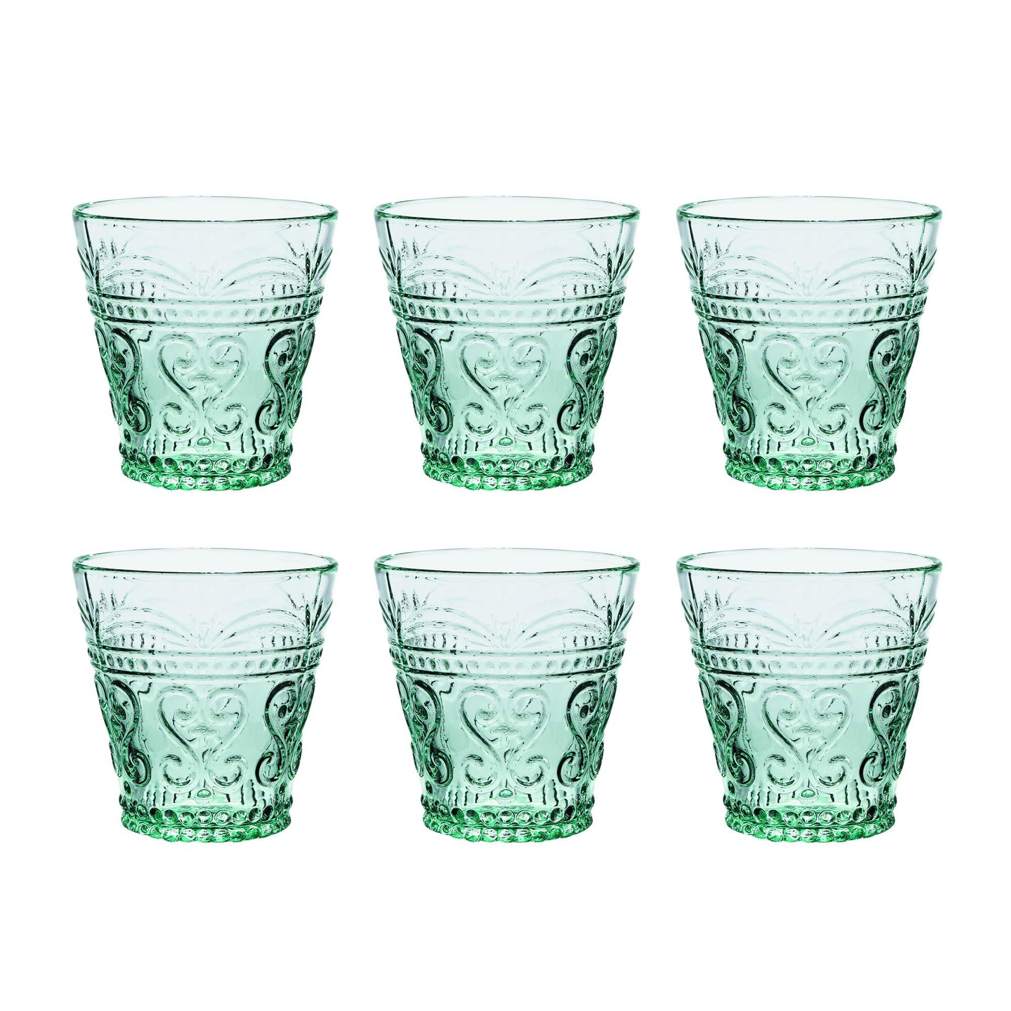 Kom Amsterdam 6AQM1 Aqua Waterglass, Soda Lime Glass, 240 milliliters, Green by Kom Amsterdam