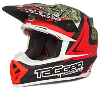 Bell Cascos MX 2017 Moto-9 Flex adultos casco, Tagger Rekluse, tamaño XL