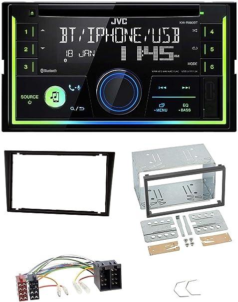 Caraudio24 Jvc Kw R930bt Mp3 Bluetooth Usb Cd 2din Aux Elektronik