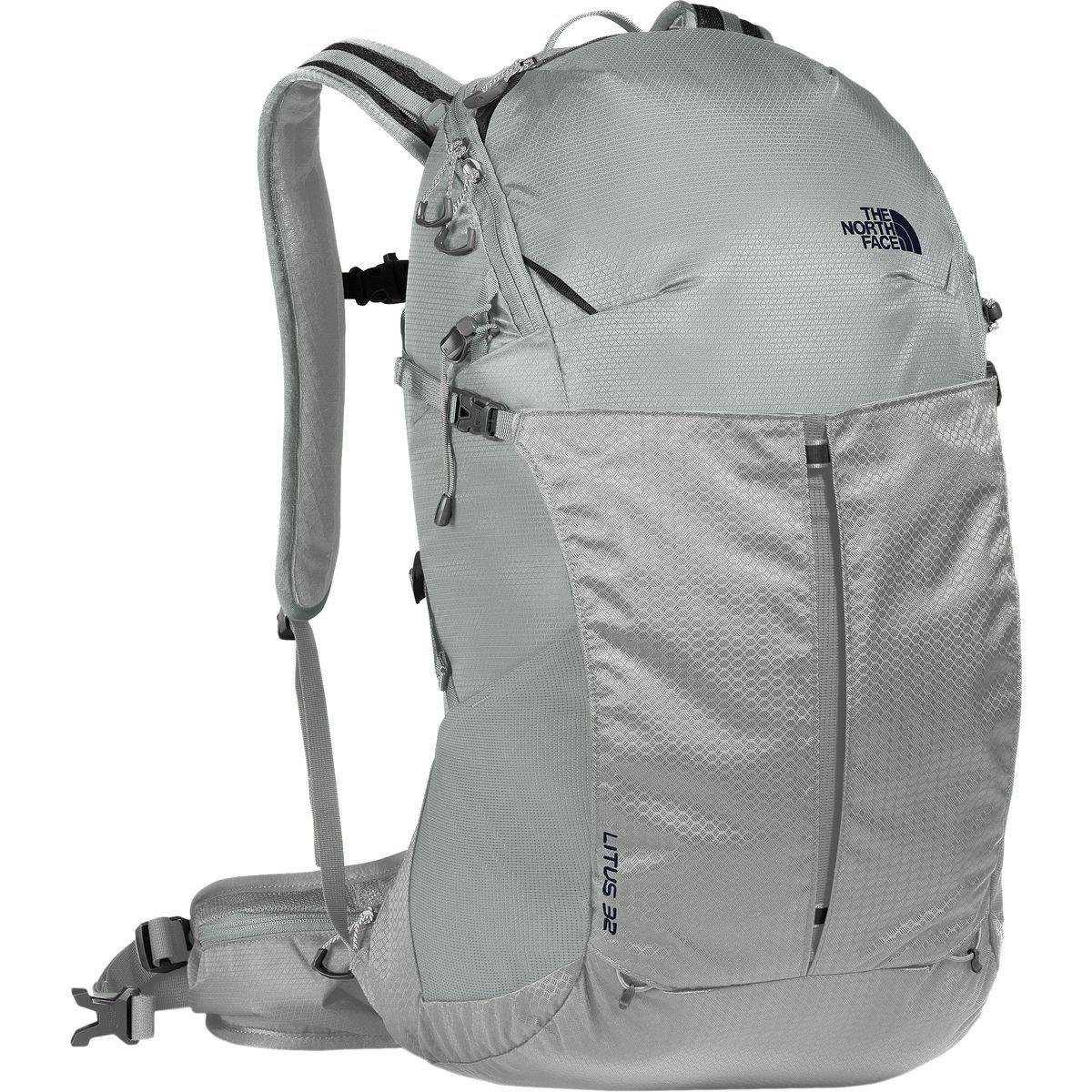 (ザノースフェイス) The North Face Litus 32L Backpackメンズ バックパック リュック Monument Grey/High Rise Grey [並行輸入品]   B079PQB57M