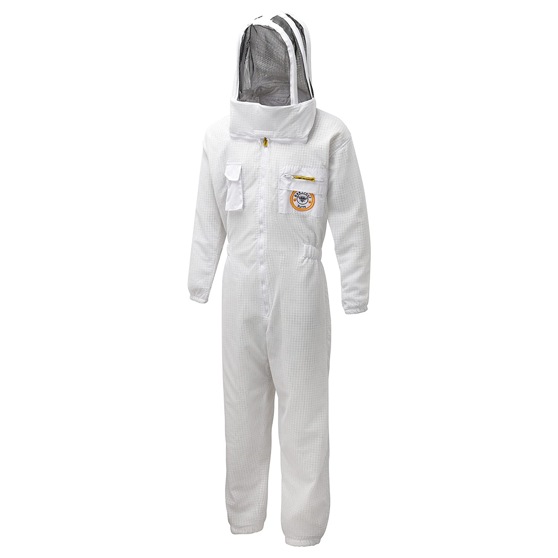 Bee Proof Suits Imker-Anzug Zonda, belüftet, dreilagig, Netzstoff, mit AstronautenkapuzeM