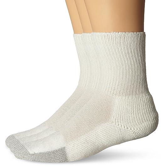 a2ac25c0bfed Men's - Women's Tennis Thick Padded Crew Socks: Amazon.co.uk: Clothing