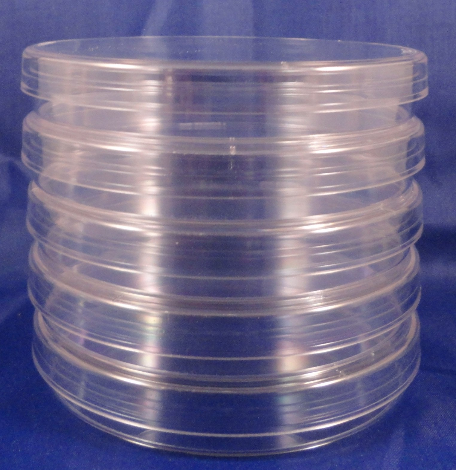 25 Pack Sterile Plastic Petri Dishes, 100mm Dia x 15mm Deep, with Lid by HEAVY DUTY PETRI DISHES (Image #1)