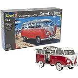 Revell Volkswagen T1 Samba Bus Escala 1/24-Revell RE07399 (07399)