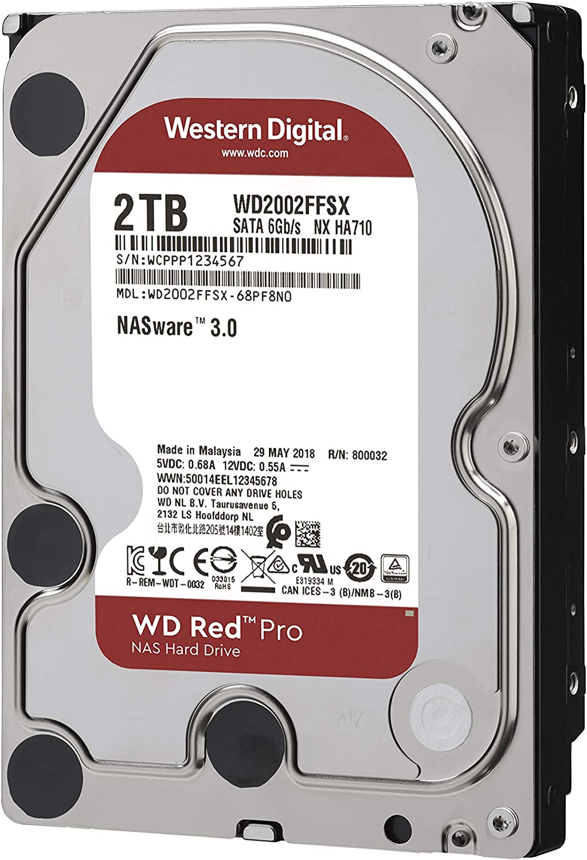 SATA 6 GB//S 3.5 Inch 512 MB Cache WD141KFGX WD Red Pro 14TB NAS Hard Drive 7200 RPM Class