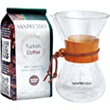 Pour Over Coffee Maker by Mixpresso - Large (20 Ounces)
