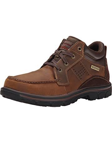 eb76ca6faaa7 Skechers Men s Segment Melego Leather Chukka Waterproof Boot