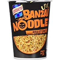 Lustucru Banzaï Noodle Poulet épicé - Cup 60 g