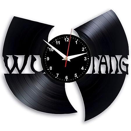 EVEVO WuTang de Wu Tang Reloj de Pared Vinilo Tocadiscos Retro de ...