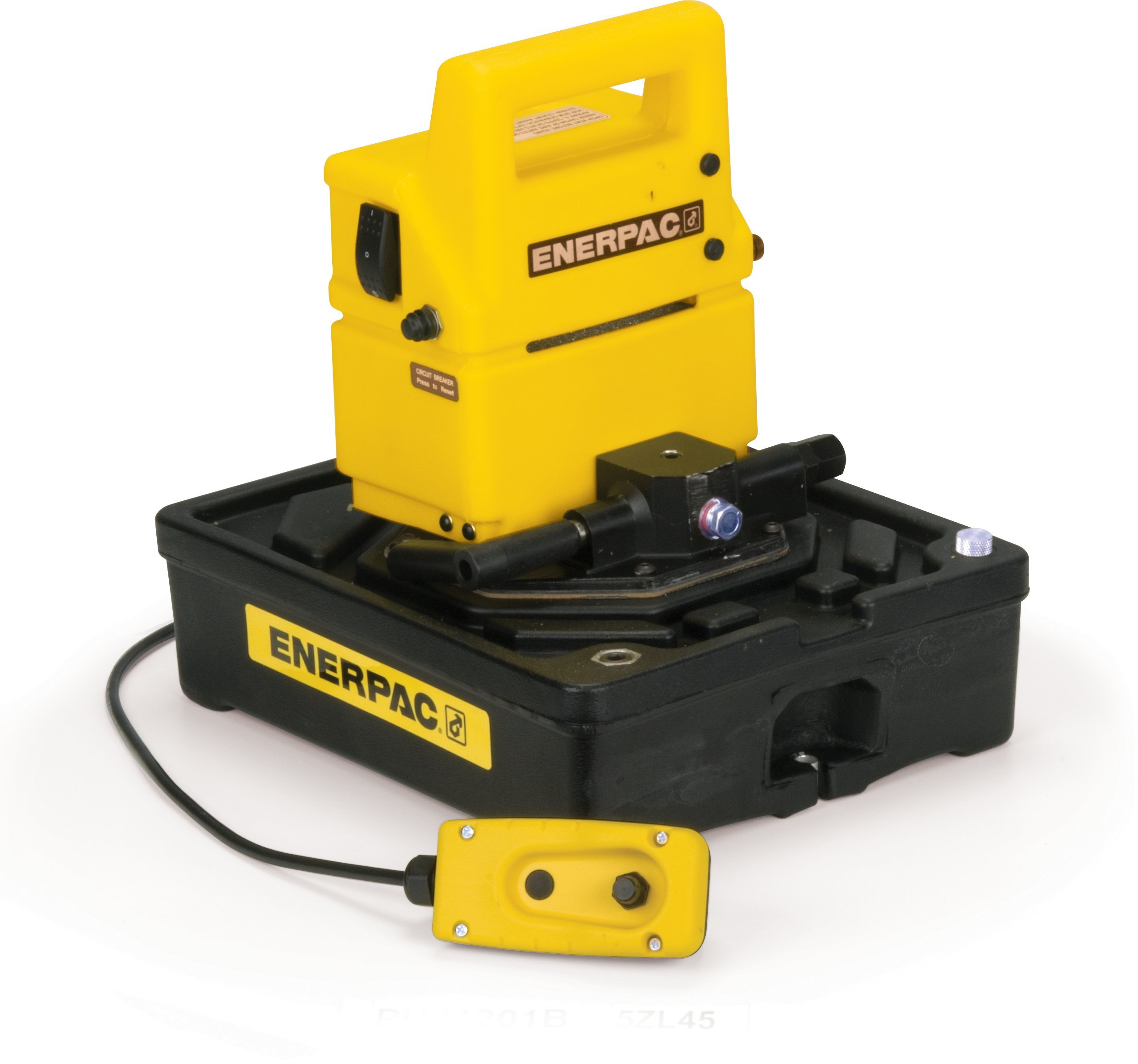 Enerpac PUD-1301B Economy Electric Pump with 115 Volt and Dump and Hold Valve