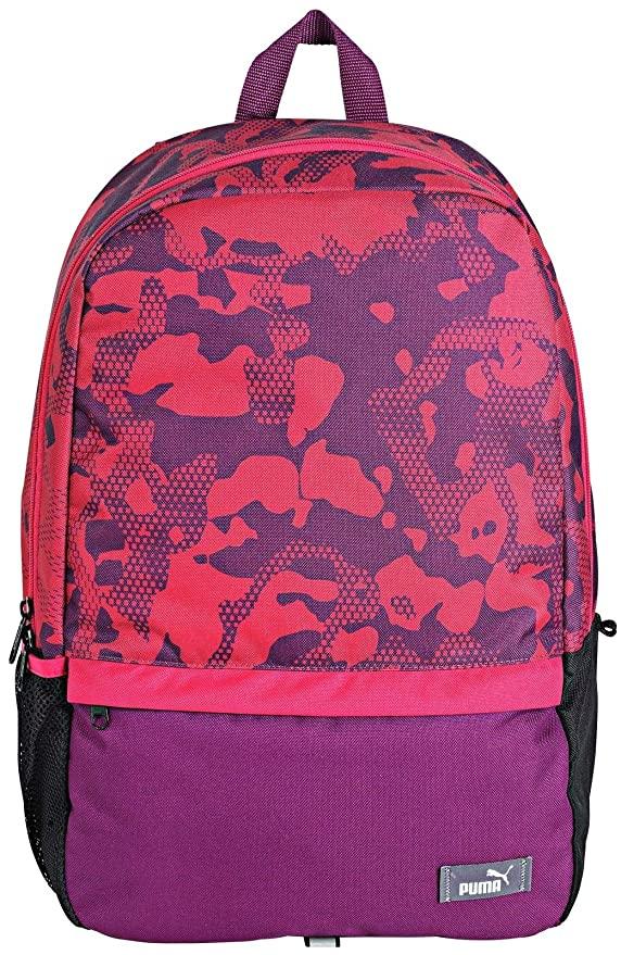 81e7bb9d3f7ef PUMA Dark Purple Love Potion Backpack   Pencil CASE Set  Amazon.co.uk   Luggage