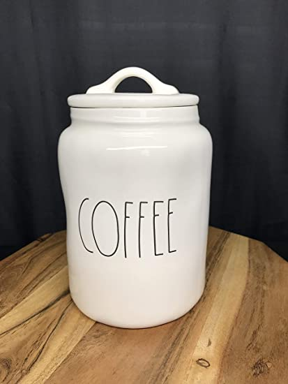b99aa14115e Amazon.com  Rae Dunn Coffee Canister By Magenta  Kitchen   Dining
