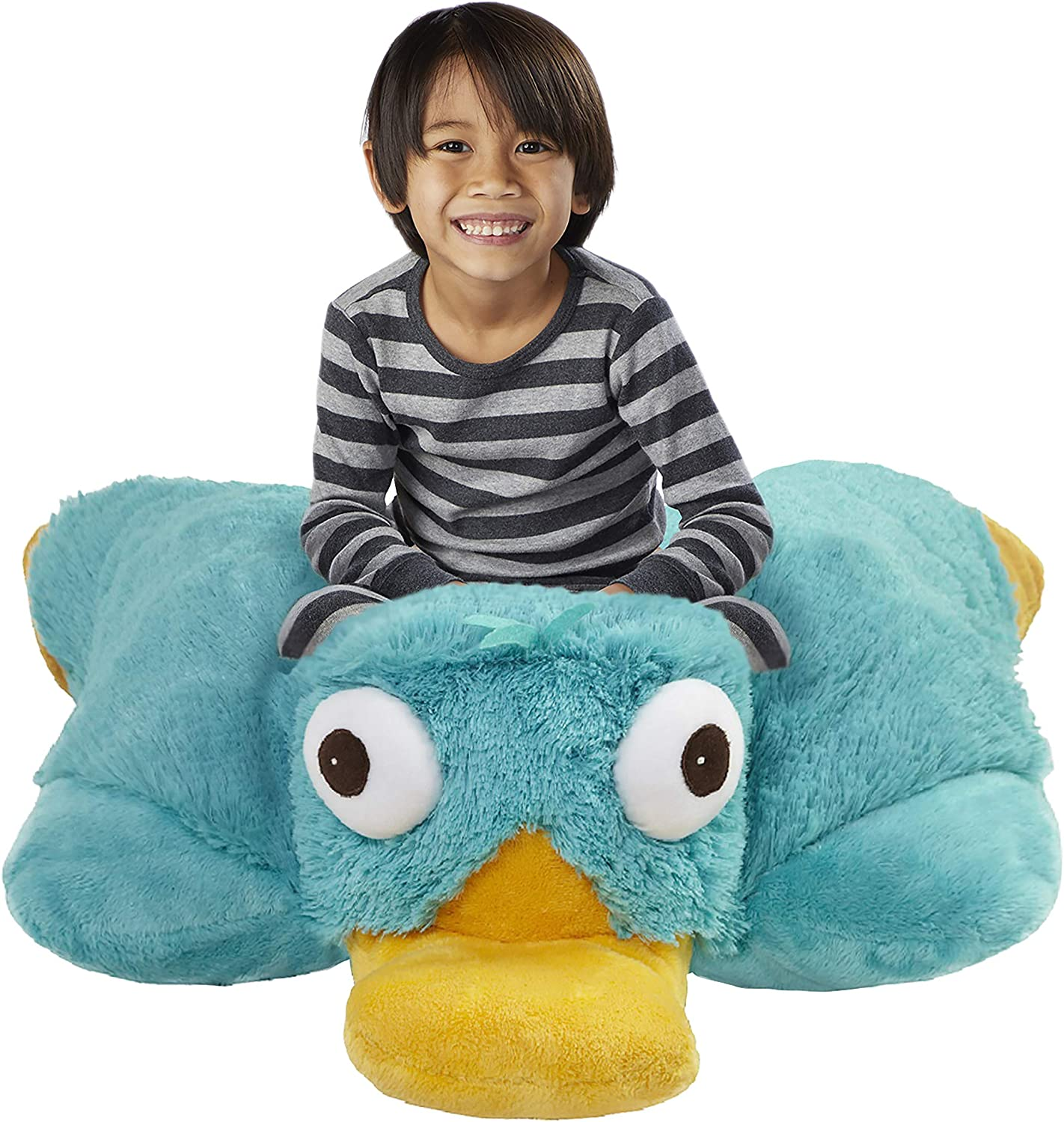 Amazon.com: Pillow Pets Jumboz Phineas and Ferb, Perry the
