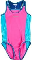 Coppertone Little Girls Bathing Swimsuit One Piece SPF50 UV Protection Swimwear