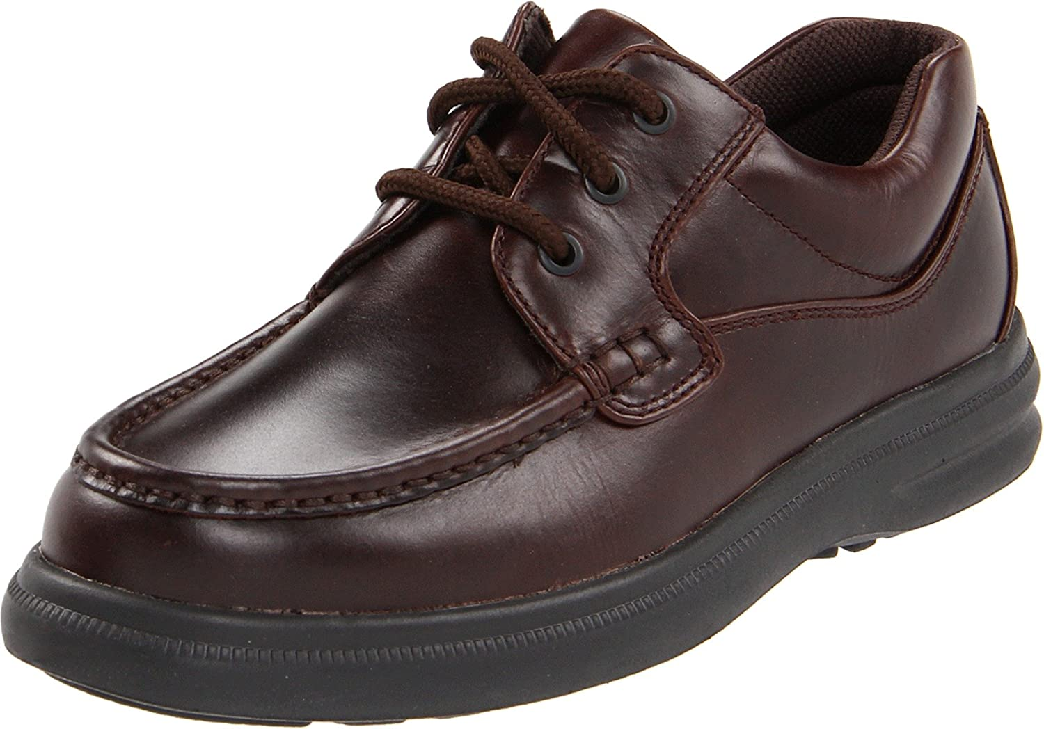 Hush Puppies Men's Gus Oxford B001AX0998 10.5 XW US|Dark Brown