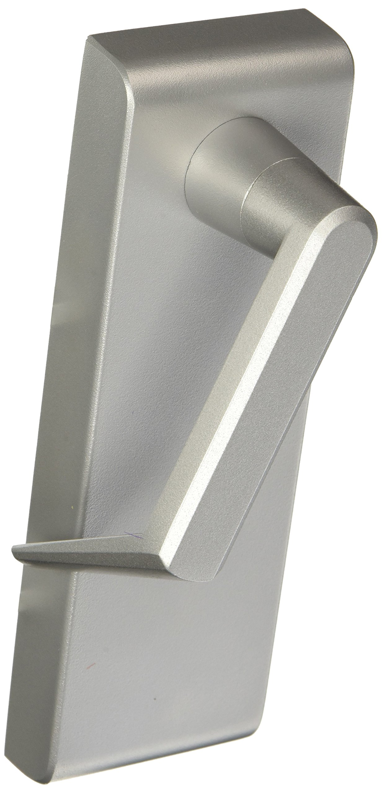 Stanley Commercial Hardware Stainless Steel Passage Escutcheon Lever Standard Duty Exit Trim from the QET300 Collection, Sierra Style, Painted Aluminum Finish