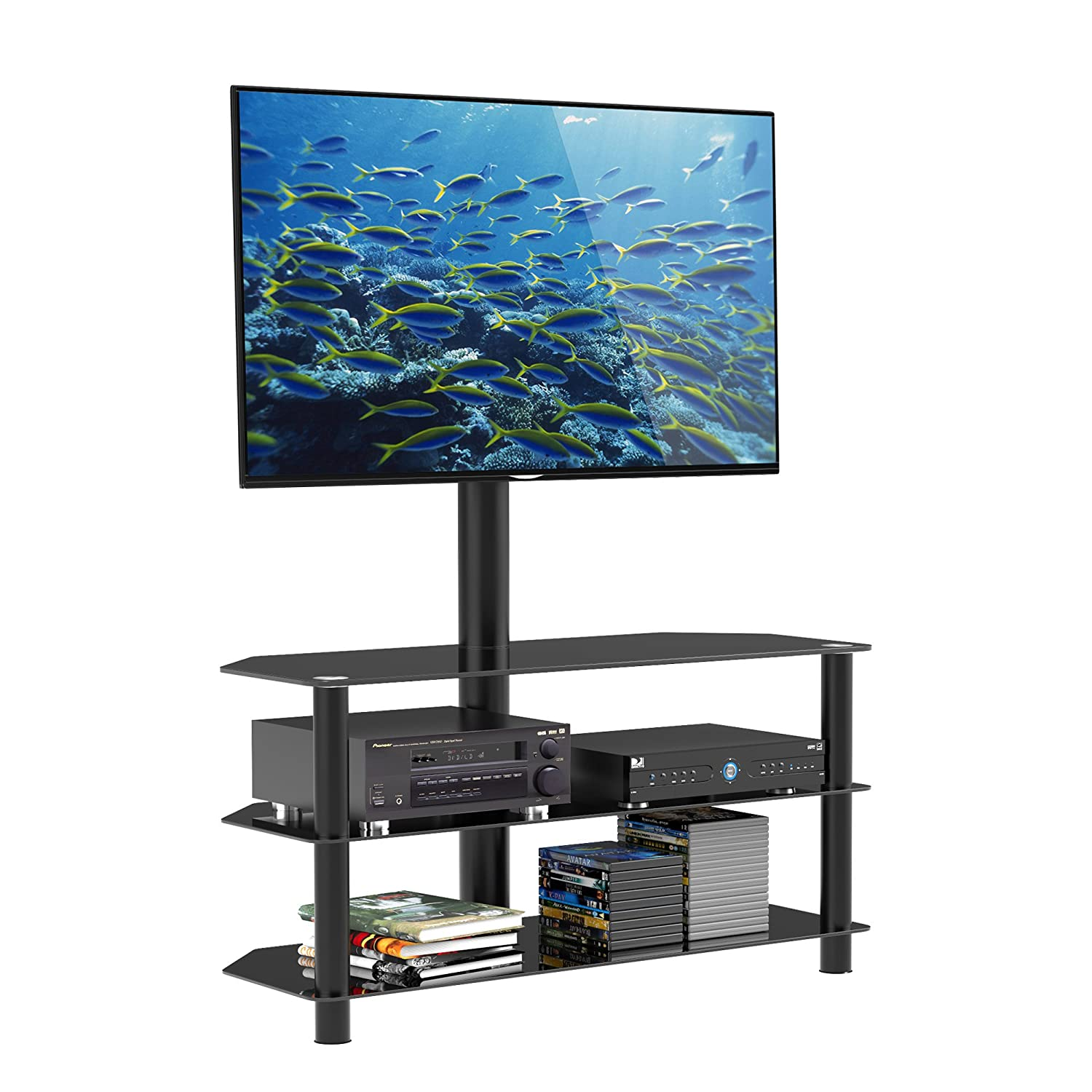 1home TV Stand with Bracket Mount Swiel for 32 inch to 70 inch WAV 1100
