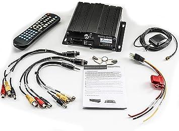 iCustodian® iC6800MDVR GPS híbrido vehículo CCTV MDVR Dual ...