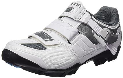 SHIMANO SHWM64C360W, Zapatillas de Ciclismo de Carretera para Mujer, Blanco (White),
